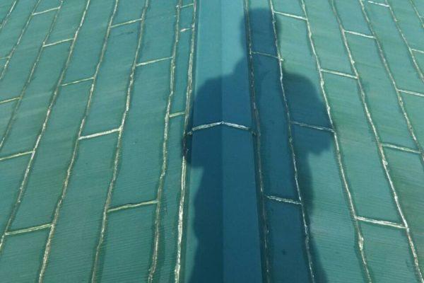 屋根カバー工法 ケイミュー スマートメタル SGL屋根 栃木県宇都宮市 A様