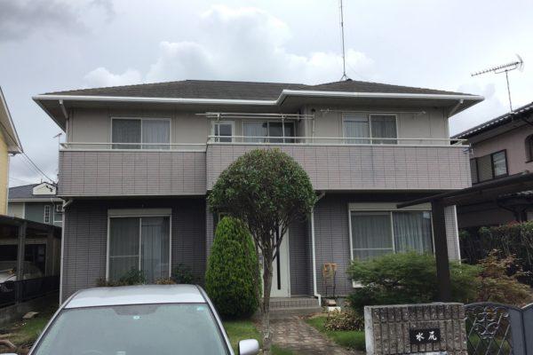栃木県鹿沼市 屋根塗装 外壁塗装 目地打ち替え オートンイクシード