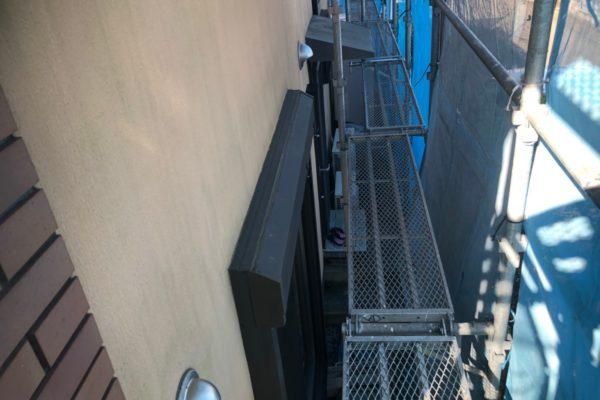足場組み立て設置の画像