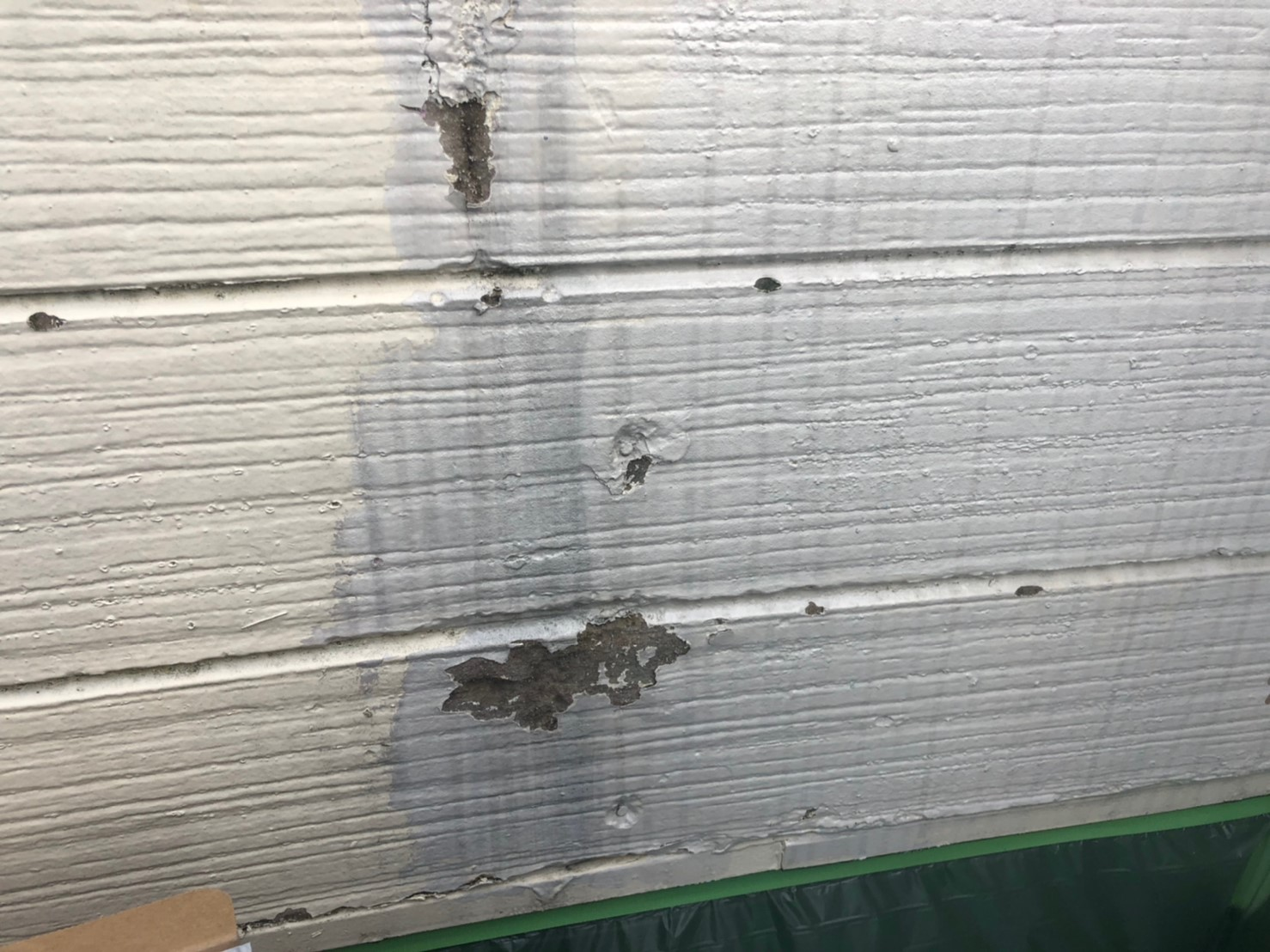 外壁塗膜剥がれの画像