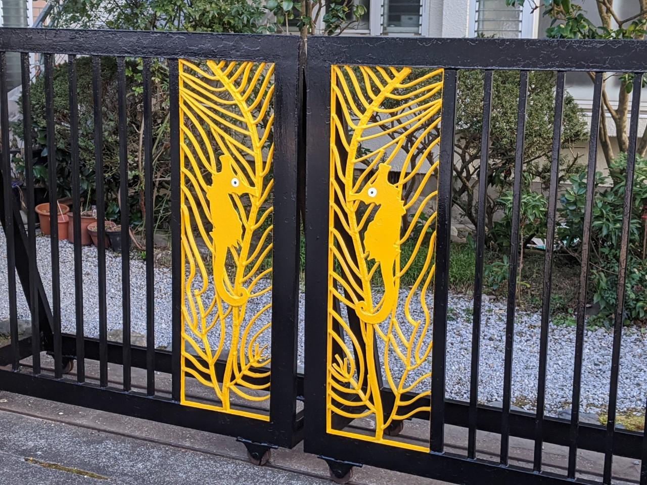 門扉塗装の画像