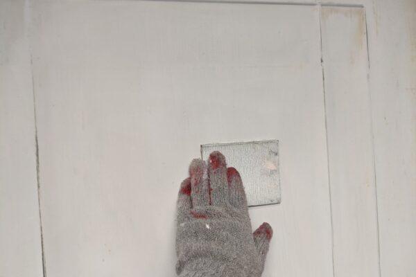 玄関塗装の画像