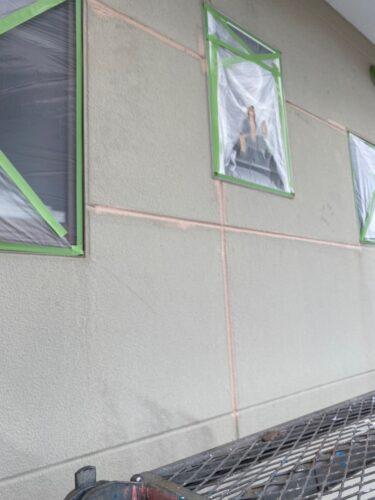 外壁のシーリング補修の画像