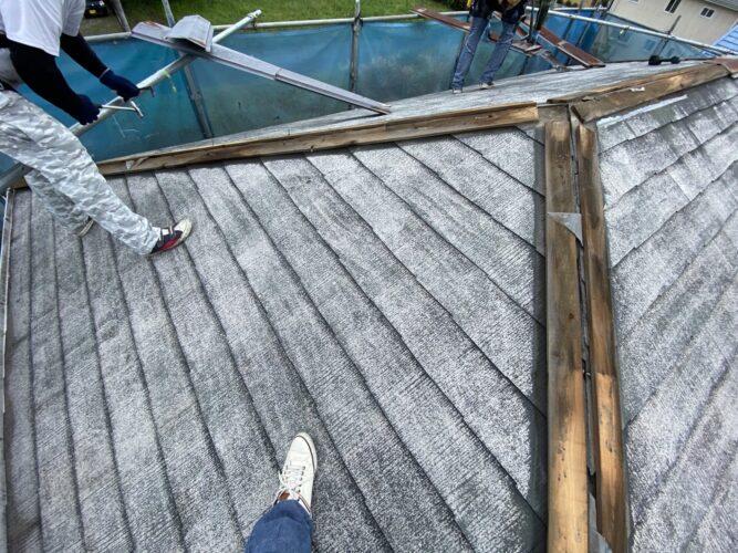 屋根板金交換の画像