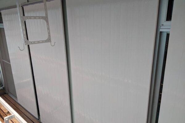 雨戸の塗装の画像