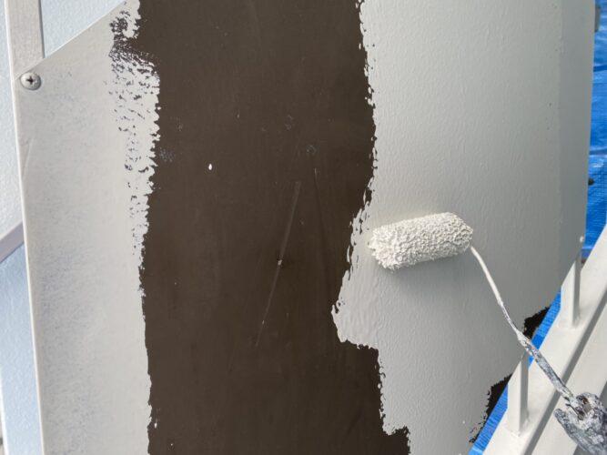 鉄部塗装の画像